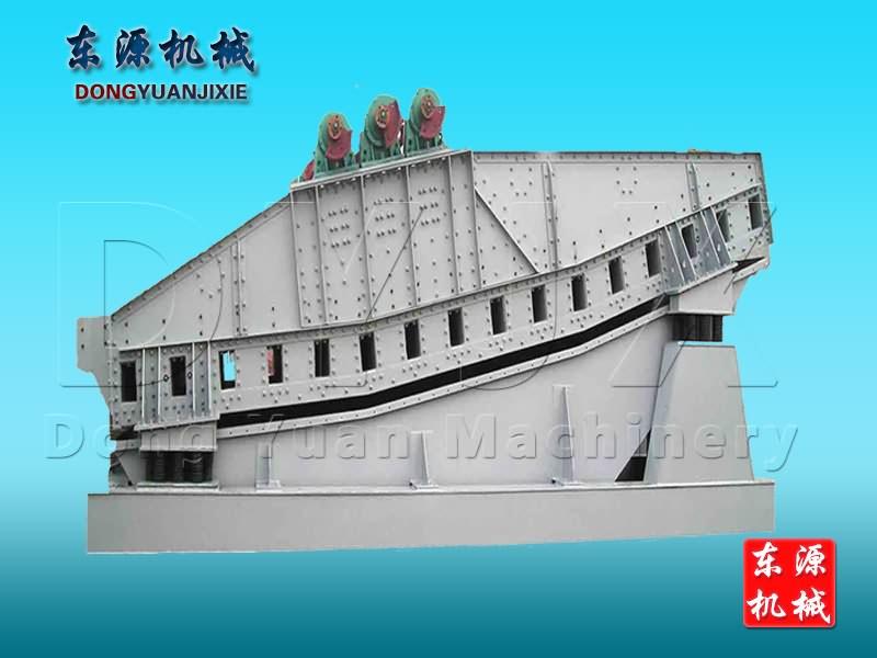 DHS系列直xiandeng厚矿用振动筛